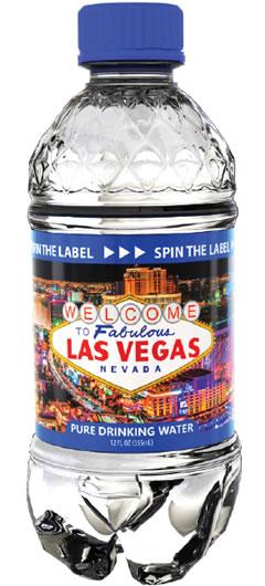 SpinWater Las Vegas Water Bottle